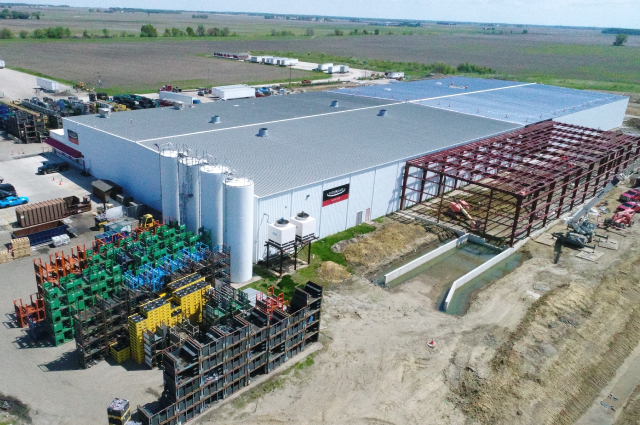 Expanding Danville Plant